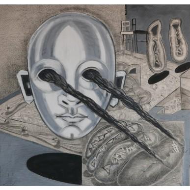 obrázek Xénia Hoffmeisterová - Příchozí - pozorující (skenující)