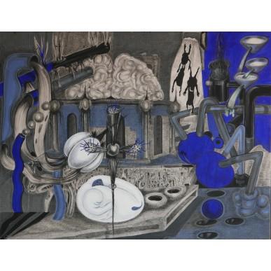 obrázek Xénia Hoffmeisterová - V modři