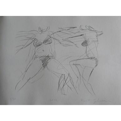 obrázek Kurt Gebauer - Plavkyně III