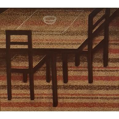 obrázek Marie Blabolilová - Stůl a dvě židle