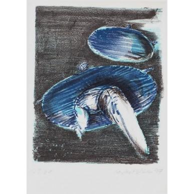 obrázek Michael Rittstein - Modročerná