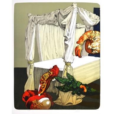 obrázek Josef Liesler - Lůžko s nebesy