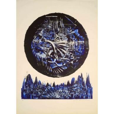 obrázek Josef Hampl - Modrá struktura