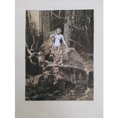 obrázek Adofl Hoffmeister - Ozvěna a oběšený
