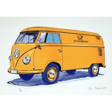 obrázek Petr Ptáček - Volkswagen T1 - Deutsche Bundespost