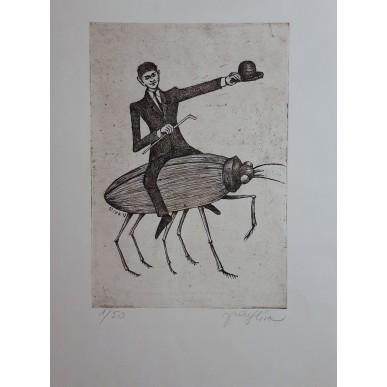 obrázek Jiří Slíva - Kafka na brouku (Tichý)