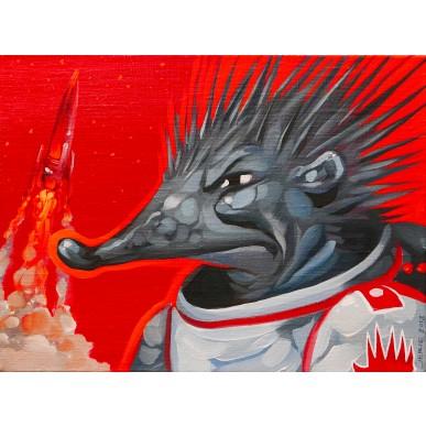 picture Karel Jerie - První ježek v kosmu