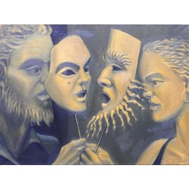 obrázek MICL - Dvě masky
