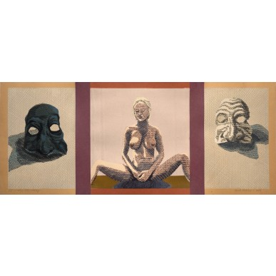 picture Pavel Piekar - Masky, Tělo, Otázky