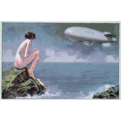 obrázek Petr Ptáček - Dívka na skále