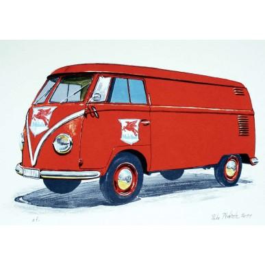 obrázek Petr Ptáček - Volkswagen T1 (Mobiloil)