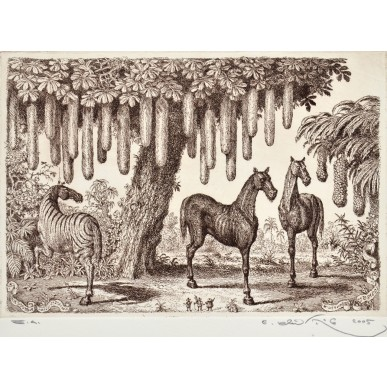 picture Peter Klučík - Dvojnohé koně