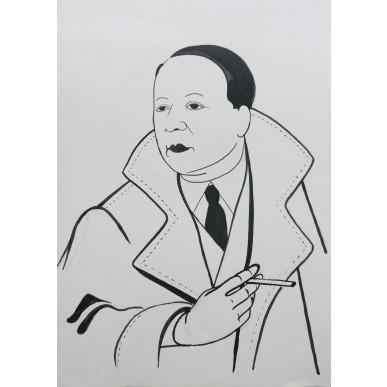 obrázek Adolf Hoffmeister - Konstantin Biebl