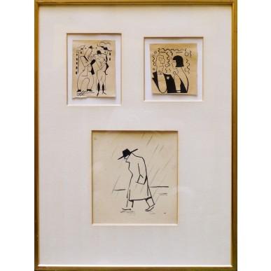 obrázek Adolf Hoffmeister - dobové kresby