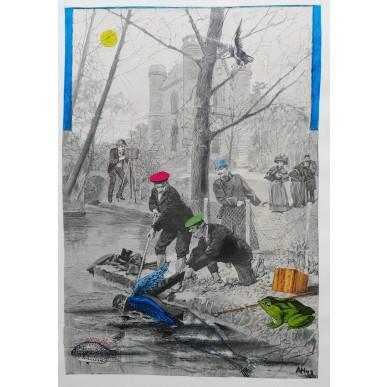 obrázek Adolf Hoffmeister - Úřední výlov padlého anděla