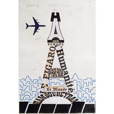 obrázek Adolf Hoffmeister - Paříž a okolí