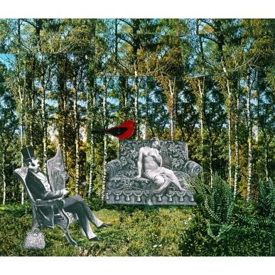 obrázek Adolf Hoffmeister - Červený ptáček
