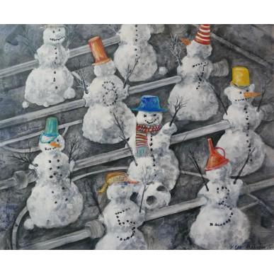 obrázek Viki Ban-Jiránková - Snowman