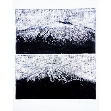 obrázek Michal Cihlář - Etna a Fudži