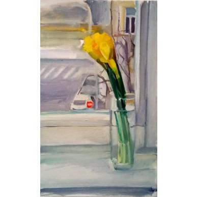 obrázek Tomáš Němec - Zátiší - květina