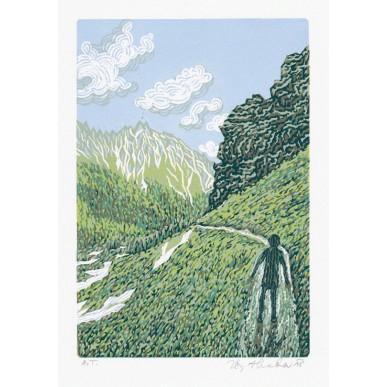 obrázek Zbyněk Hraba - V horách