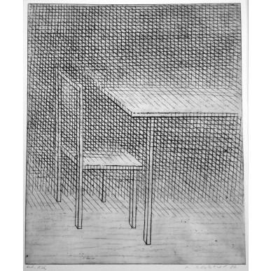 obrázek Marie Blabolilová - Stůl a židle