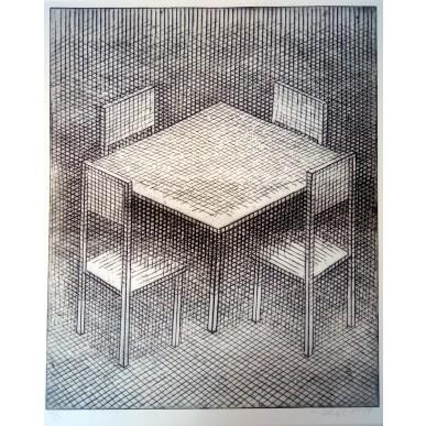 obrázek Marie Blabolilová - U stolu