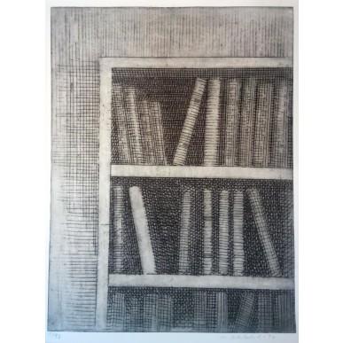 obrázek Marie Blabolilová - Zátiší s knihami 4