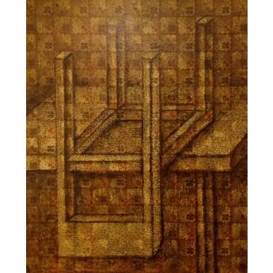 obrázek Marie Blabolilová - Židle a stůl