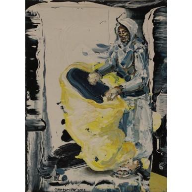 obrázek Michael Rittstein - Žena s pytlem